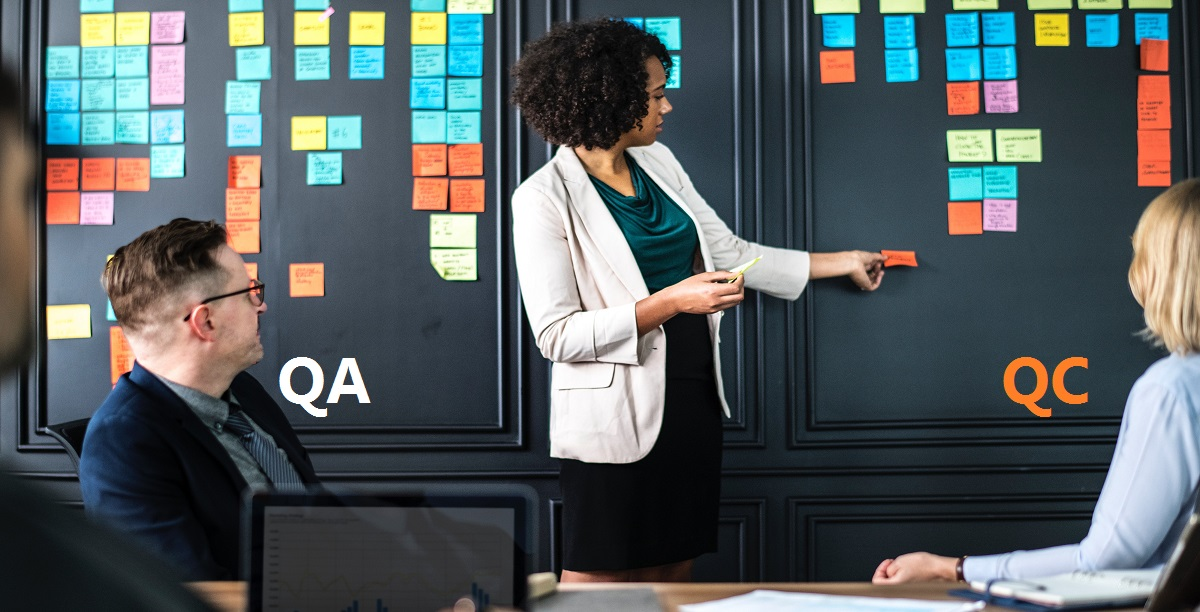 What are the key differences between QA and QC?