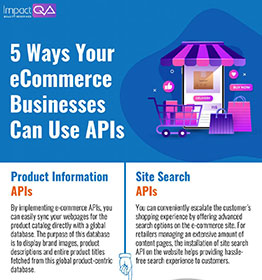 5 way your eCommerce businesses can use APIs