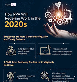 How RPA Will Redefine Work in the 2020s