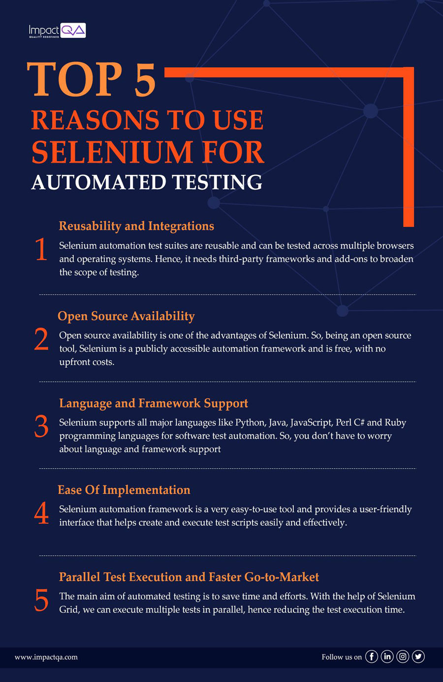 Reasons to use selenium for automated testing