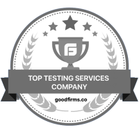 Top Testing Services Badge - Goodfirms