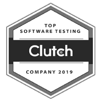 Top Testing Services Badge - Clutch