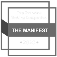 Top Testing Services Badge - The Mainfest